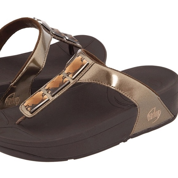004373b07 NWT Fitflop Pietra Sandal size 9